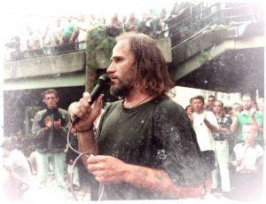 Богољуб Арсенијевић Маки на Петровдан 1999. у Ваљеву